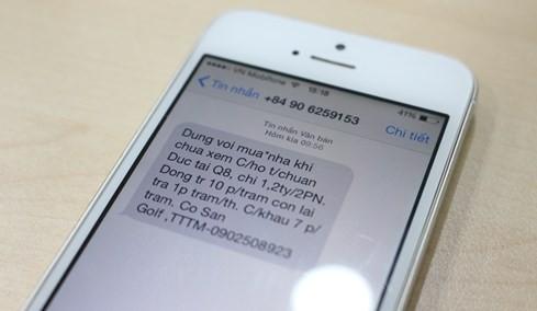 Quảng cáo qua tin nhắn