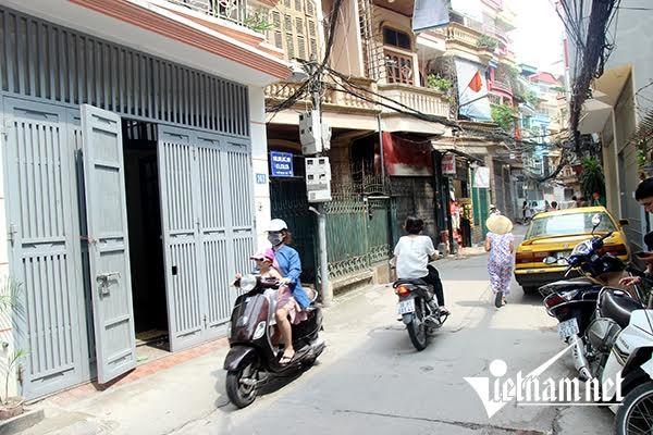nhà 4 tầng, vết nứt, Hà Nội, sập nhà