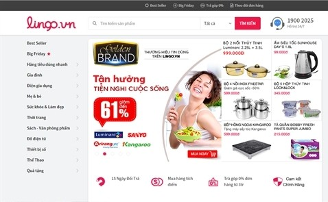 Sau Beyeu, Deca..., sàn thương mại điện tử Lingo của Việt Nam nối gót ra đi.