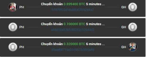 Hoạt động cho - nhận trên Bitkingdom với lãi suất 1%/ngày