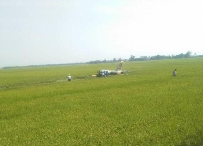 Bộ Quốc phòng thông tin nguyên nhân ban đầu vụ máy bay rơi ở Phú Yên