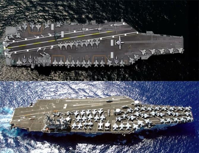 Mỹ, siêu tàu sân bay, yếu điểm, nguy hiểm, lớp Ford