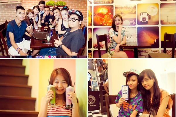 The Coffee Inn một thời trong ngày khai trương cơ sở 2 tại Nguyễn Hữu Huân. Ảnh: Kenh14.