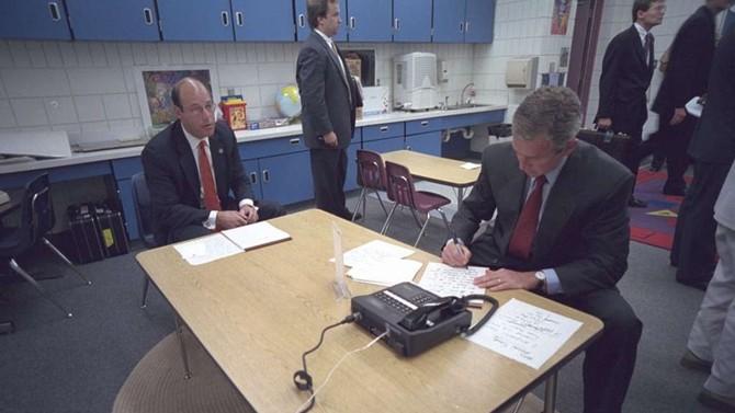 Lộ bản viết tay về phản ứng của tổng thống Bush ngày 11.9.2001 - ảnh 3
