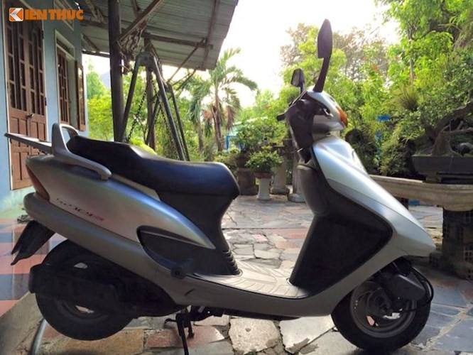 Honda Spacy di 16 nam gia 200 trieu dong tai Ha Noi-Hinh-14