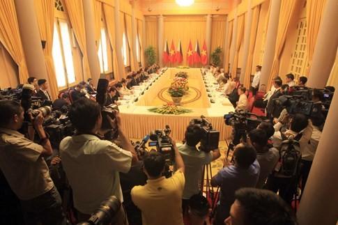 Việt Nam - Philippines thảo luận về Biển Đông - ảnh 1