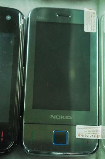 Một chiếc Nokia nhái thời đầu những năm 2000.