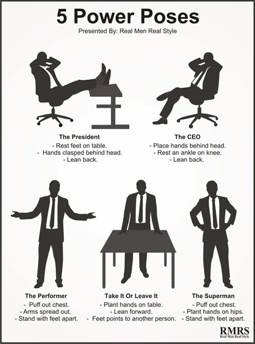 5 power poses của RMRS doanhnhansaigon