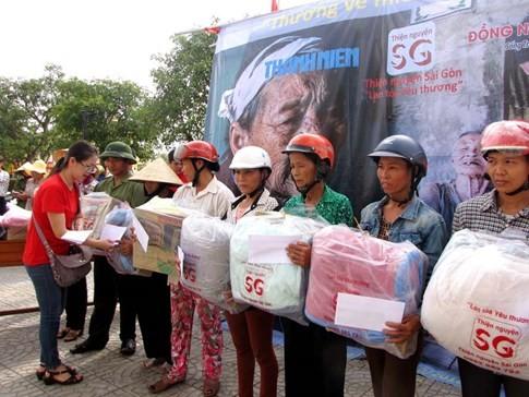 Tiền hàng cứu trợ mưa lũ miền Trung bị thôn thu lại, dân bức xúc - ảnh 2
