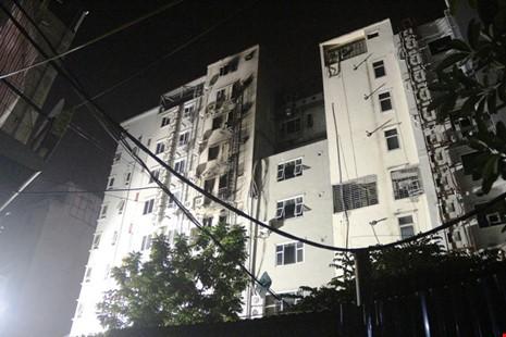 Hoang tàn sau vụ cháy kinh hoàng quán karaoke ở Hà Nội - ảnh 9