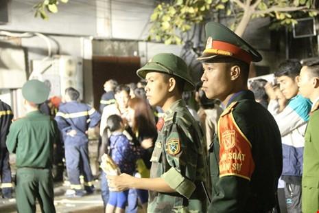 Hoang tàn sau vụ cháy kinh hoàng quán karaoke ở Hà Nội - ảnh 8
