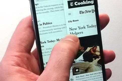 Những thao tác chạm ngón tay bí ẩn có trên iPhone - ảnh 1