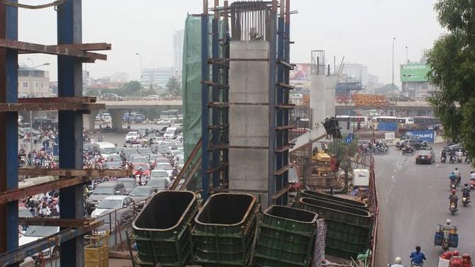 đường sắt trên cao, dự án ngàn tý, dự án chậm tiến độ, nhà thầu ngoại