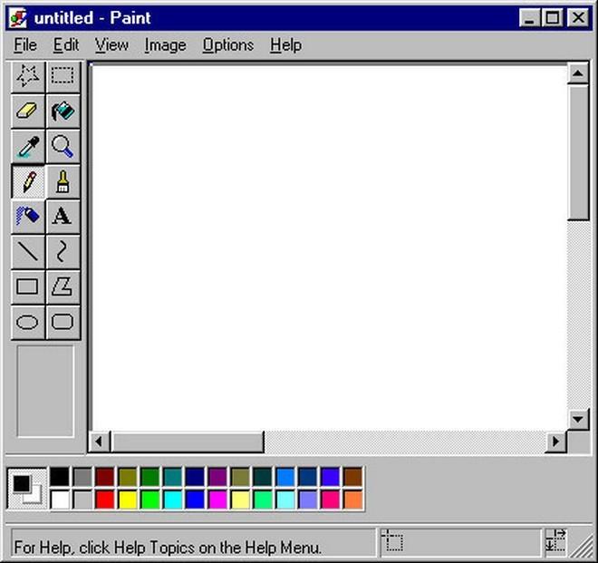 Những giao diện phổ biến trên máy tính thập niên 90