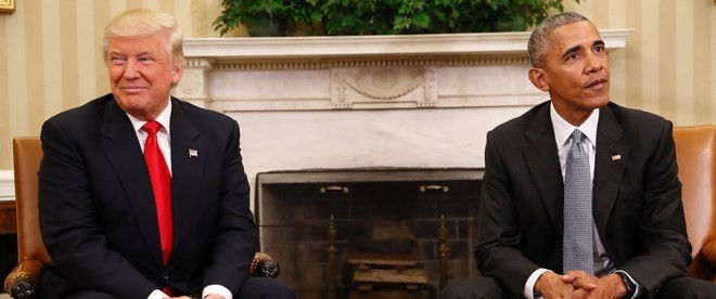 Trump co the lam thay doi quan diem lich su ve Obama hinh anh 2