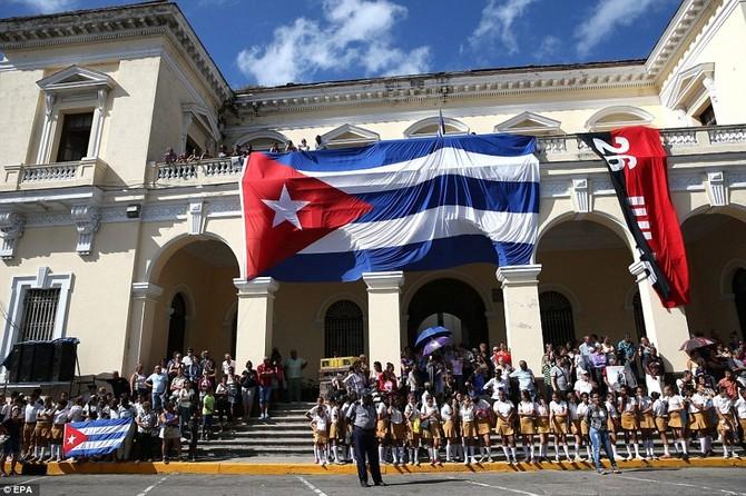 Hanh trinh cuoi cung cua lanh tu Fidel Castro ve noi an nghi hinh anh 12