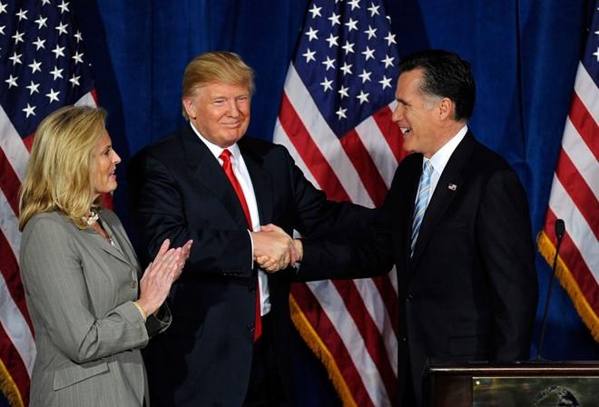 Bua an toi guong gao giua Trump va Romney hinh anh 2
