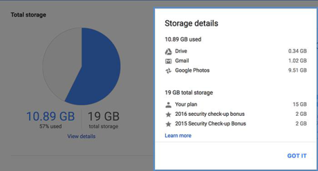 Cach don dep de tang bo nho luu tru cho Google Drive - Anh 1