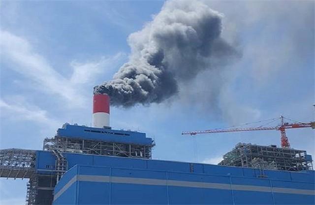Kết quả hình ảnh cho Cháy nổ tại nhà máy Nhiệt điện Vĩnh Tân 4