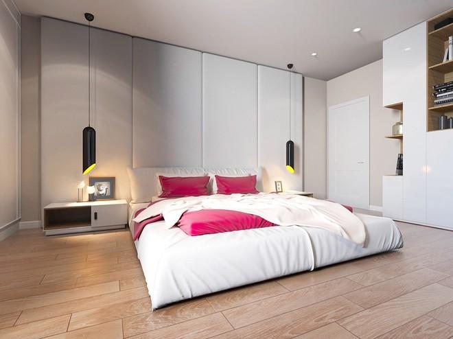 Phòng ngủ không cần giường mà vẫn sang trọng