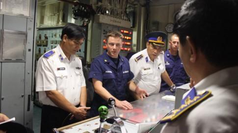 Tàu tuần duyên Mỹ làm lễ giải ngũ, sắp bàn giao cho Việt Nam - ảnh 3