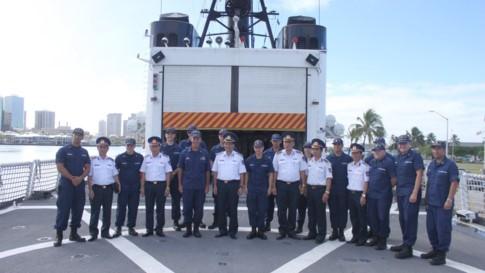 Tàu tuần duyên Mỹ làm lễ giải ngũ, sắp bàn giao cho Việt Nam - ảnh 4