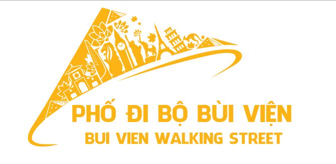 Phố đi bộ Bùi Viện hoạt động, người dân ở đó được phát logo dán lên xe - ảnh 2