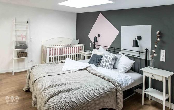Nhà thêm phòng ngủ tiện nghi nhờ có gác xép