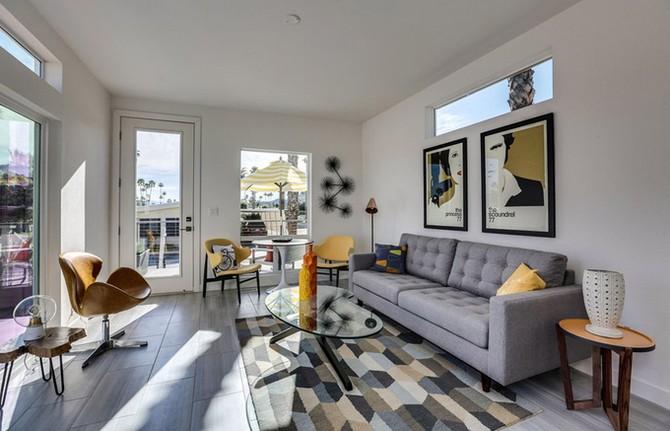 Nhà cấp bốn 55 m2 ở Mỹ tiện nghi như villa nhỏ