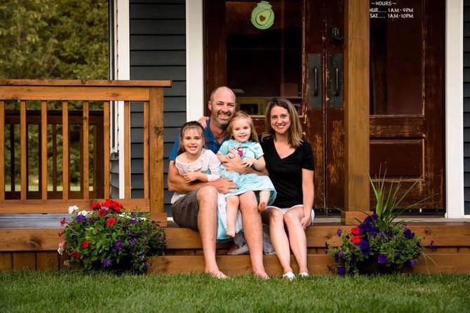 Ngôi nhà vạn người mê của ông bố Mỹ làm cho con gái