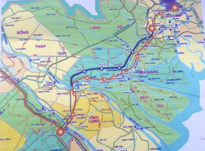 Đã có 5 tỷ USD làm đường sắt cao tốc TPHCM – Cần Thơ? - ảnh 1
