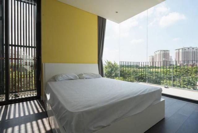 Một phòng ngủ tuyệt đẹp, sang trong không kém khách sạn.