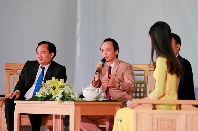 """anh2_vaig Chủ tịch FLC: """"Đủ khả năng 'nuôi' mình thì mới nên nghĩ đến khởi nghiệp"""""""