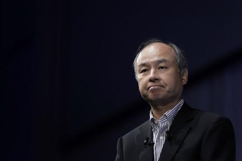 Chủ tịch tập đoàn SoftBank Masayoshi Son.