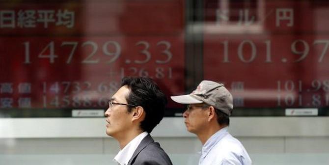 Chứng khoán châu Á đuối sức với Trung Quốc