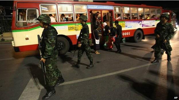 Quốc tế lên án đảo chính ở Thái Lan