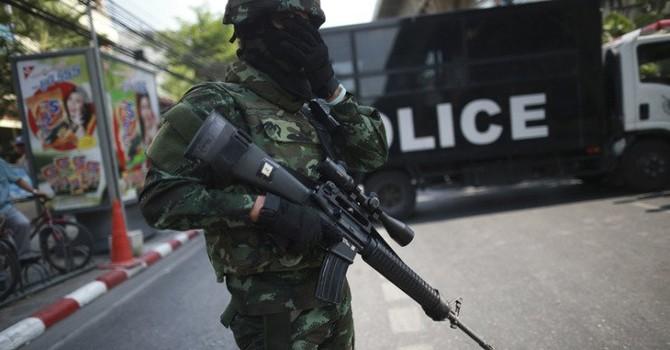 Biểu tình ở Bangkok bất chấp đe dọa từ phía quân đội