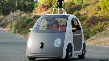 Google sắp sản xuất...xe ôtô tự lái nhờ cảm ứng radar