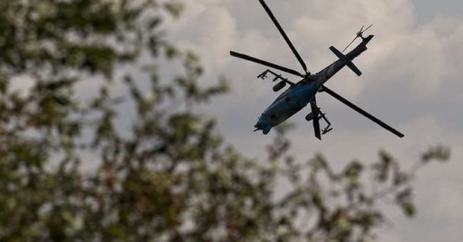 Quân đội Ukraine tiếp tục bắn phá Sloviansk ở miền Đông