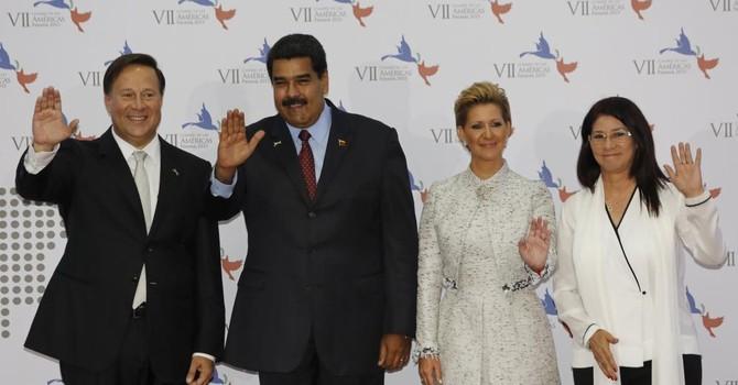 """Ra về """"tay trắng"""" vì căng thẳng Mỹ-Venezuela tại thượng đỉnh Panama"""