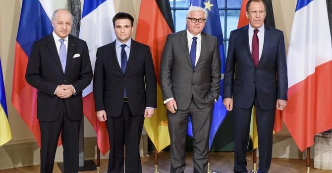 Đức, Pháp, Nga và Ukraine kêu gọi chấm dứt giao tranh ở Đông Ukraine