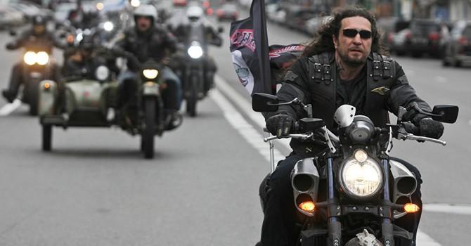 """""""Những con sói đêm"""" ủng hộ ông Putin quyết chạy xe mô tô khắp châu Âu"""