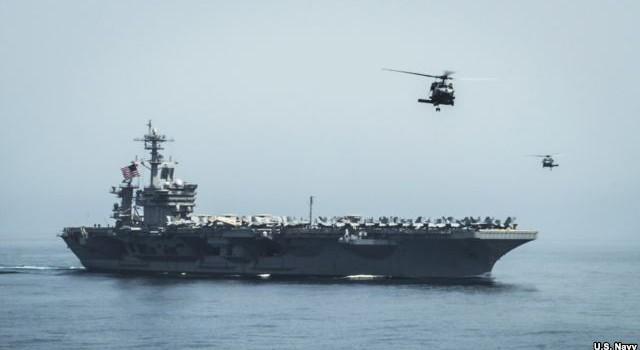 Mỹ điều tàu chiến đến vùng biển ngoài khơi Yemen