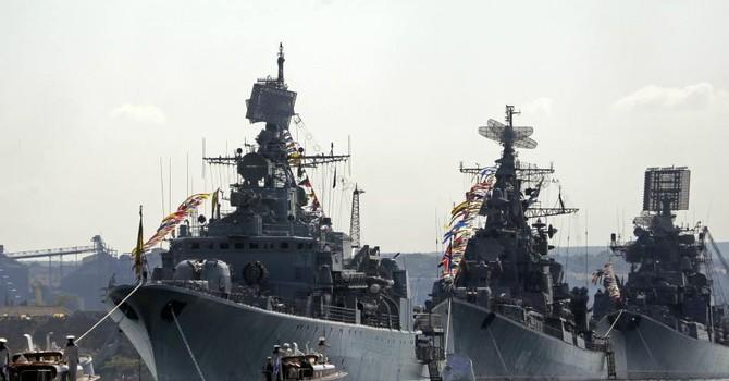 """Nga và Trung Quốc sắp tập trận lớn ở Địa Trung Hải để """"thị uy"""""""