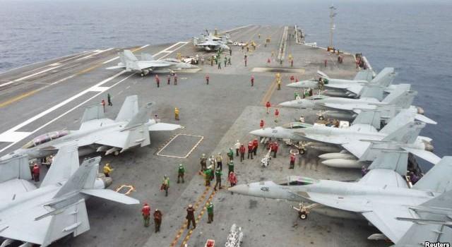 Nhật và Mỹ tính tuần tra chung ở Biển Đông để kiềm chế Trung Quốc