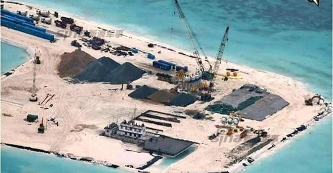 Trung Quốc biện minh cho hoạt động xây đảo phi pháp ở Biển Đông