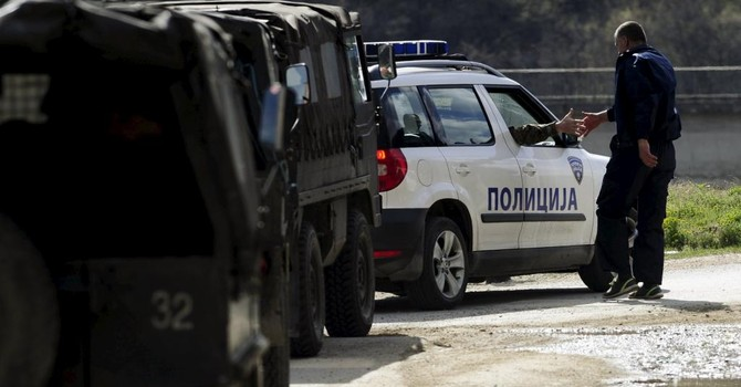 Nổ súng tại biên giới Macedonia - Kosovo khiến khu vực Balkan lo ngại