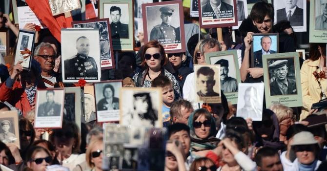 12 triệu người Nga tham gia diễu hành nhân ngày chiến thắng phát xít