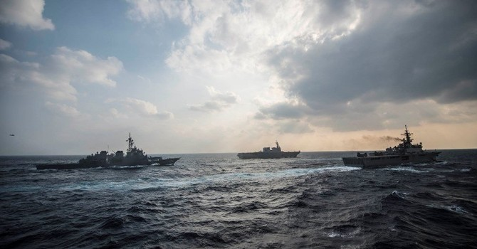 """Bộ Quốc phòng Mỹ lên phương án """"trị"""" Trung Quốc ở Biển Đông"""
