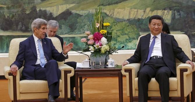 """Ông Kerry muốn """"làm rõ"""" chuyện Biển Đông, ông Tập nói quan hệ Trung - Mỹ """"ổn định"""""""